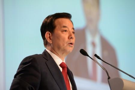 9月21日,韩国国防部长韩民求(Han Min-koo )透露,韩国有消灭金正恩的计划。 (ROSLAN RAHMAN/AFP/Getty Images)