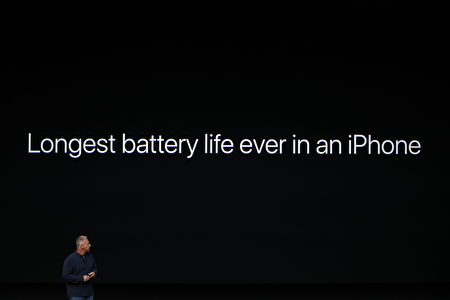 SAN FRANCISCO, CA - SEPTEMBER 07: Apple Senior Vice President of Worldwide Marketing Phil Schiller speaks on stage during a launch event on September 7, 2016 in San Francisco, California. Apple Inc. is expected to unveil latest iterations of its smart phone, forecasted to be the iPhone 7. The tech giant is also rumored to be planning to announce an update to its Apple Watch wearable device. (Photo by Stephen Lam/Getty Images)