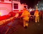周六晚在纽约市发生一起爆炸事件,有目击者表示感受到震荡波,也有人看到火环和火球。(BRYAN R. SMITH/AFP/Getty Images)