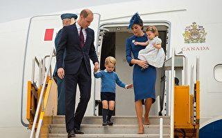 威廉凱特出訪加拿大 一雙兒女超吸睛