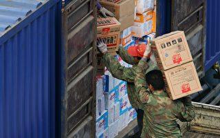 四分之三的中朝貿易是通過丹東口岸進行。(Cancan Chu/Getty Images)