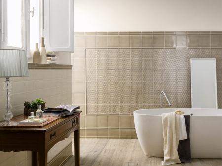 优雅体现在家中的每个时刻,泡澡也不例外。(TileShop提供)