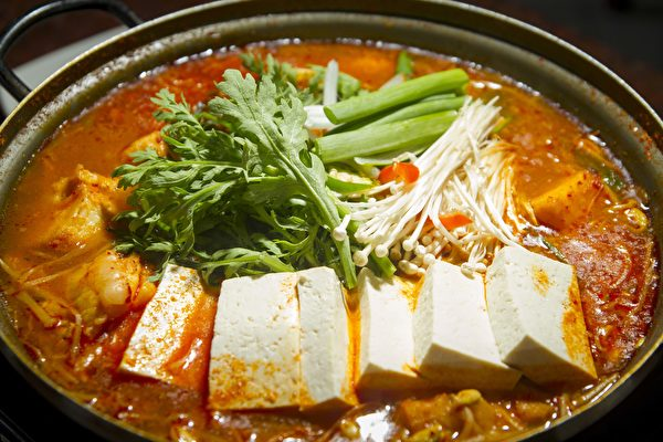 湾区韩餐馆Sui Tofuの香辣鳕鱼汤