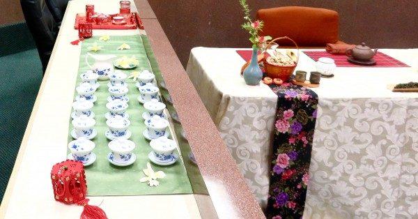 17日秋天的饗宴 呷茶講古盆栽書畫展