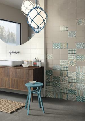 Imola的花纹瓷砖。(TileShop提供)