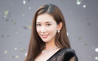 林志玲出席活動資料照。(陳柏州/大紀元)