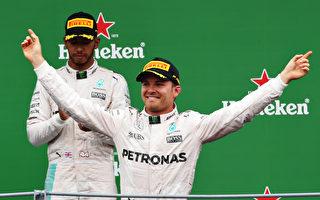 F1意大利站 奔馳包攬前二 法拉利居三、四