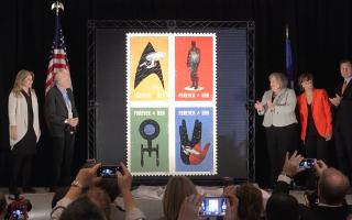 《星際迷航》50週年紀念郵票亮相