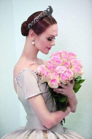 俄罗斯首席舞星乌里安娜‧洛帕特金娜。(海鹏提供)