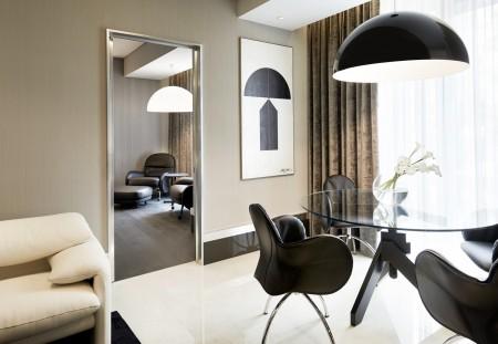 高卢埃克塞尔西奥酒店(Excelsior Hotel Gallia)设计型套房。(高卢埃克塞尔西奥酒店提供)