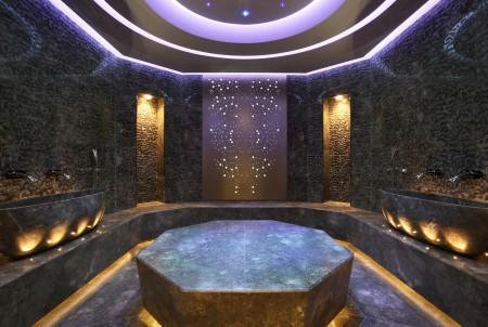 高卢埃克塞尔西奥酒店(Excelsior Hotel Gallia)水疗中心。(高卢埃克塞尔西奥酒店提供)