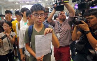 赴泰国遭扣12小时后返港 黄之锋:很可怕