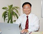 北美哈佛卓越教育中心的秦俊傑教授。(田園/大紀元圖片)