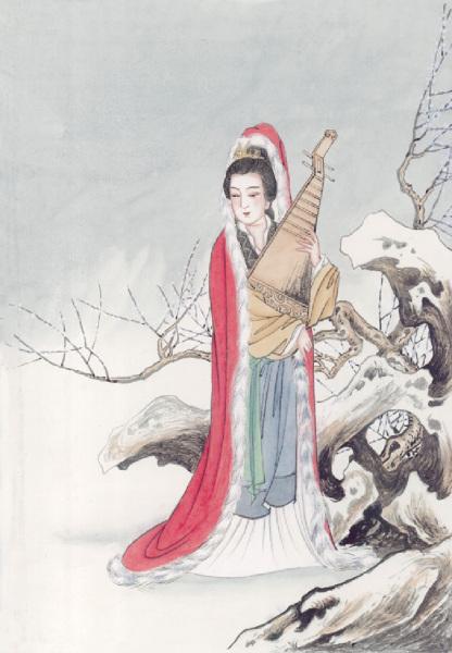 昭君出塞(7) 青塚流芳 | 和親 | 王昭君