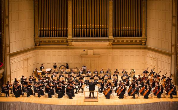 神韵交响乐团已连续三年在波士顿交响乐厅演出,10月21日晚8时将再度莅临波士顿。(爱德华/大纪元)