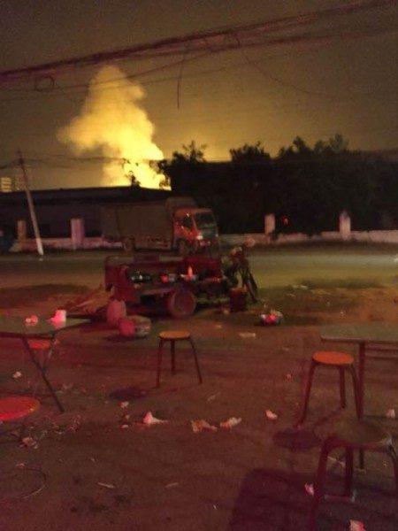 2015年9月,该曾发生过爆炸。(网络图片)