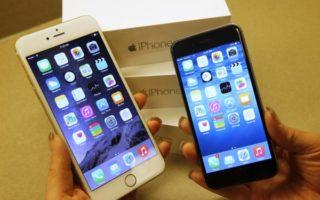 苹果iPhone 7正在全球热销,iPhone 6s和小尺寸iPhone SE售价因此调降,也刺激了新一波买气。(George Frey/Getty Images)