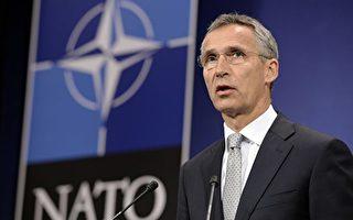 北約10月26日宣布在東歐國家增加軍事部署,制衡俄羅斯軍事力量。(THIERRY CHARLIER/AFP/Getty Images)