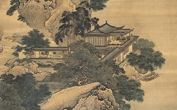 东汉 袁耀《绿野堂图》。(公有领域)