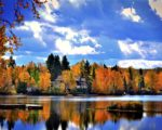 全球赏枫胜地以加拿大的魁北克最为著名。(pixabay)