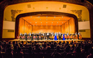 2016年10月3日晚间,神韵交响乐团在台北中山堂演出。(陈柏州/大纪元)