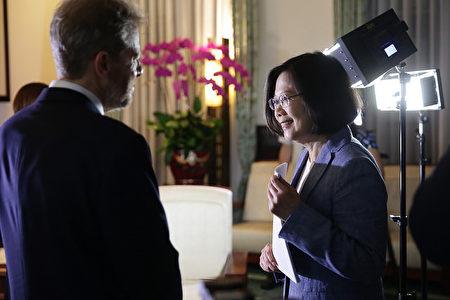 蔡英文接受美国《华尔街日报》专访全文