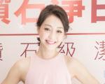 藝人謝欣穎10月5日在台北出席開幕記者會。(陳柏州/大紀元)