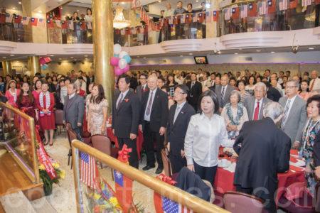 2016年灣區雙十全僑公宴 上百團體參加