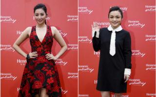 图为徐佳莹(左)与A Lin分别在轩尼诗炫音之乐时尚音乐派对带来精彩表演。(公关/大纪元合成)