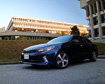 周三(6月21日),美国权威汽车评级机构J.D.Power公布年度汽车质量调查结果,韩国起亚(Kia)汽车公司再次夺得排行榜冠军。图为 Kia Optima。〈李奥/大纪元〉