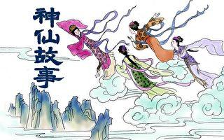 神仙故事。(插图:Angie/大纪元)