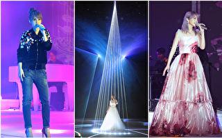 楊丞琳在台北首次舉辦新歌演唱會,獻唱10首新曲及過去鮮少演唱的驚喜曲目 。(環球EMI/大紀元合成)