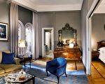 米蘭艾特德大酒店,代表著米蘭歷史的記憶和經典的藝術與文化,提供18世紀的傢俱和貴族大管家式的服務。(米蘭艾特德大酒店)