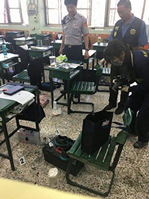 台生自制手榴弹带学校炫耀 意外爆炸受伤