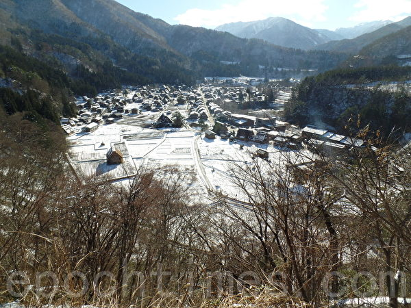 日本白川鄉 合掌村雪景(Miyuki Chua 提供)