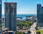 多伦多的豪华公寓有增多的趋势。(Shutterstock)
