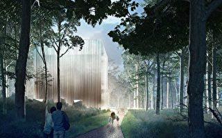"""植物园将建""""梦幻""""玻璃温室 悉尼公司独特设计夺魁"""