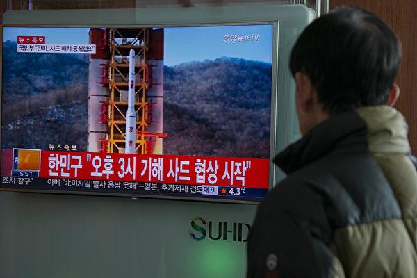 外界认为,朝鲜或会利用下一次重要节日,也就是4月25日朝鲜人民军建军纪念日,来再一次进行挑衅。 (Photo by Han Myung-Gu/Getty Images)