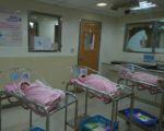 图为在10月10日国庆日出生的国庆宝宝。(台北市立联合医院提供,本图为示意图,与内文无关)