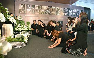不少泰国劳工或新住民参加泰王拉玛九世蒲美蓬纪念会。(桃市府/提供)
