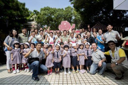 市立动物园80大寿新竹市要办庆生会。(新竹市府提供)
