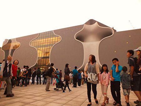 台中國家歌劇院正式推出扶植在地藝術計畫,包括甄選在地駐館藝術家,及辦理微劇場徵選計畫等。(黃玉燕/大紀元)