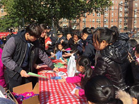 顾雅明办秋季园游会,成孩子乐园。