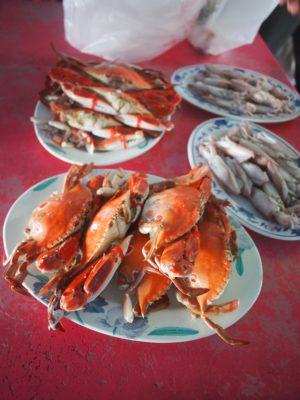 澎湖当令的三点蟹相当肥美。(雄狮旅游提供)