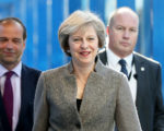 英国首相特里莎·梅将于1月27日在白宫与新任总统川普会面。(Matt Cardy/Getty Images)