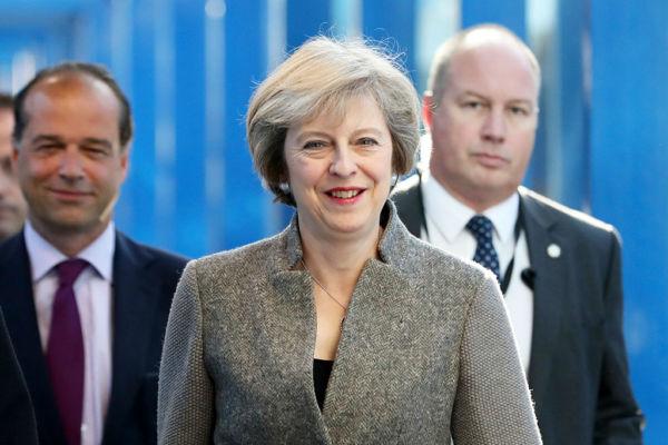 英国首相特雷莎·梅10月2日宣布,英国将在明年3月底前正式启动脱离欧盟的程序。 (Matt Cardy/Getty Images)