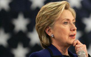 民調:希拉里在9搖擺州領先