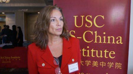 前国防部国际安全事务助理部长Mary Beth Long(杨阳/大纪元)