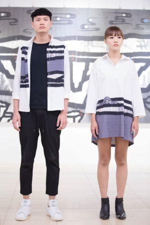 张礼权的新作与品牌服饰合作,寻找更多元的发展。(图/玩子)