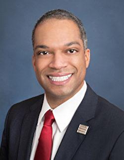 美國華盛頓DC市議員布蘭登.托德(Brandon Todd)。(官方圖片)